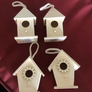 Wooden Birdhouses unpainted NEW